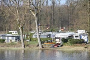 Blick auf den Campingplatz vom Möhnesee